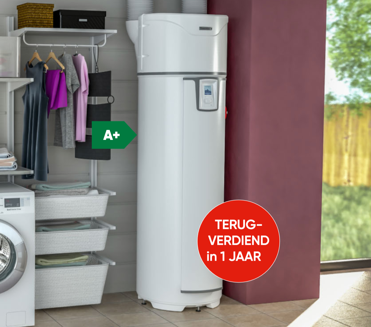 Hybride Boiler Warmtepompboiler